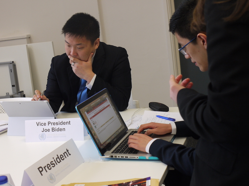 Photo from Liverpool Model United Nations