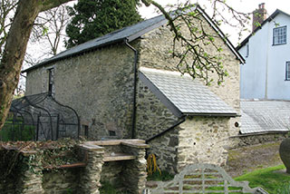 External view of the restored barn