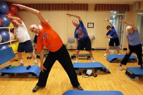 Aerobic exercise has been demonstrated to improve cognitive ability, specifically executive function, in older adults.