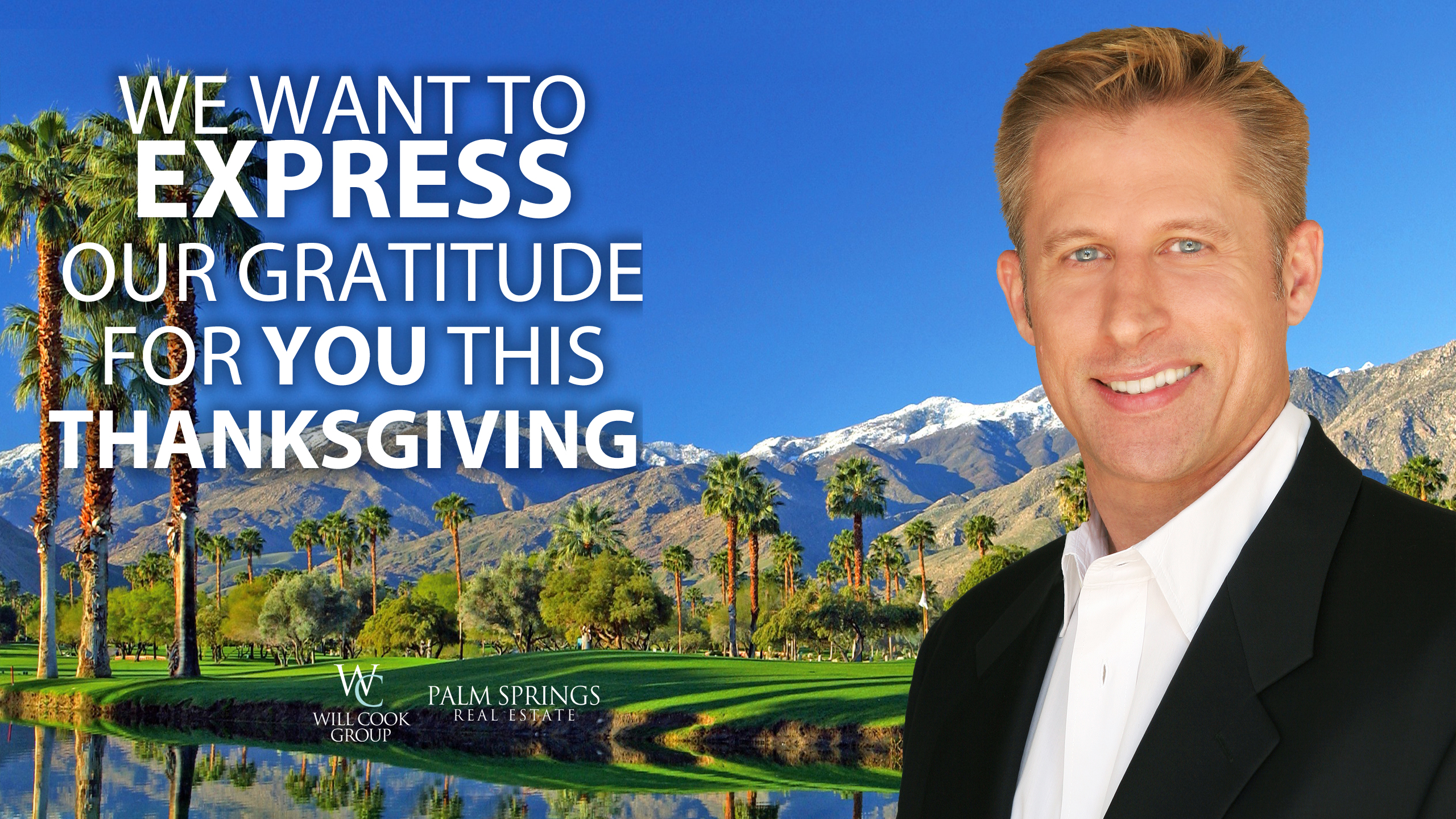 We Want to Express Our Gratitude for You This Thanksgiving