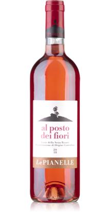 Le Pianelle Wein al posto dei fiori rose