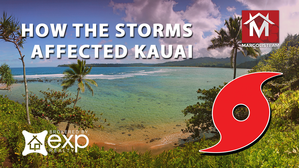 How the Storms Affected Kauai Earlier  This Year?