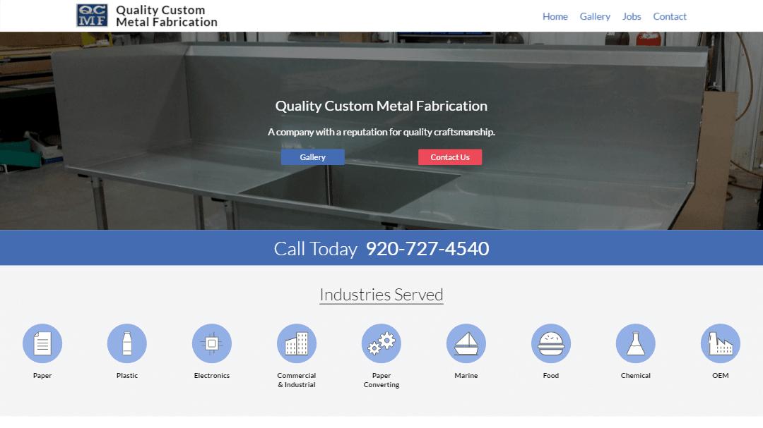 Quality Custom Metal Fabrication Site Image