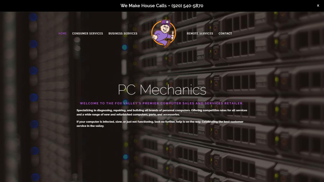 PC Mechanics Site Image