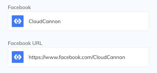 Facebook interface