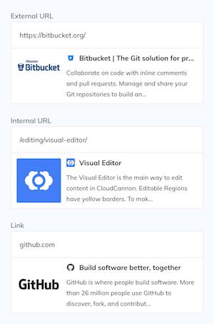 URL interface