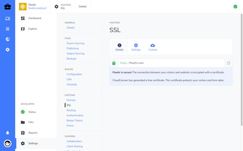 SSL details