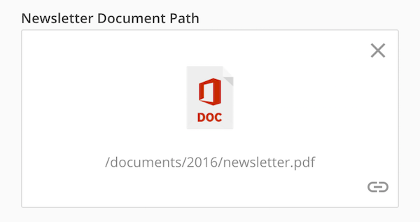 Document interface