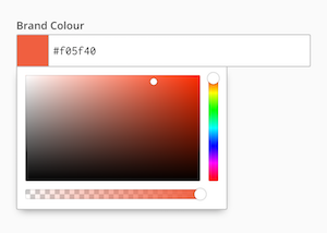 Colour interface