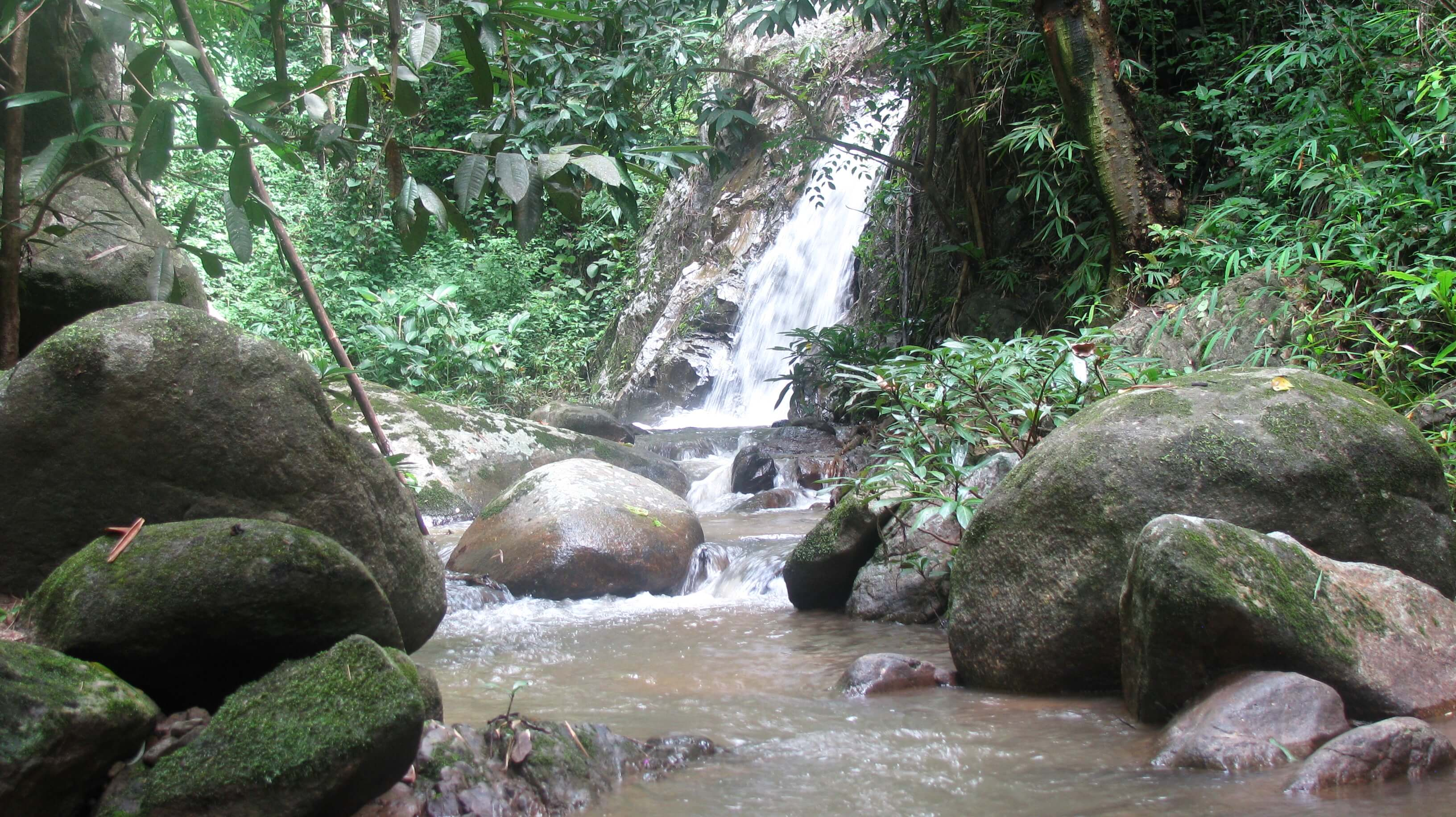 waterfalls in Pha Daeng National Park