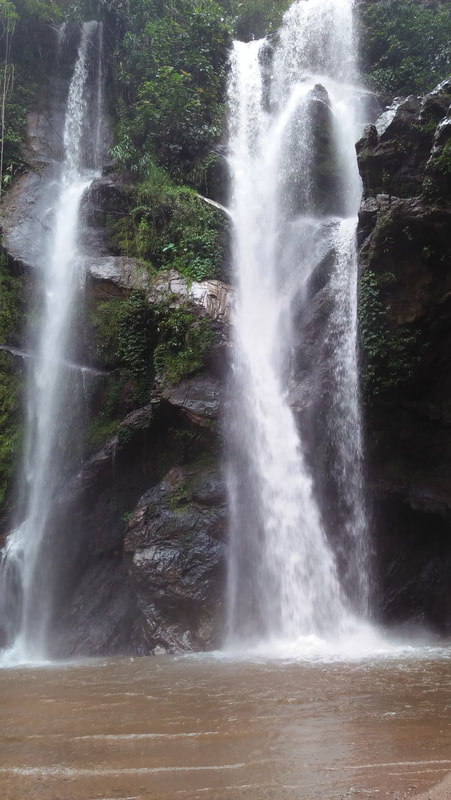 Hui Nam Dang National Park waterfall