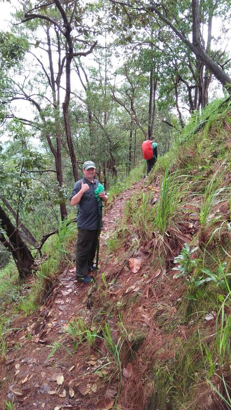 trekking Hui Nam Dang National Park