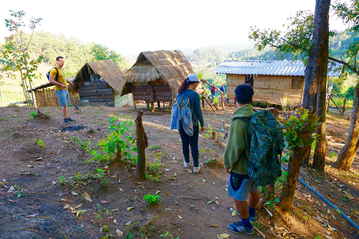 karen hilltribe village