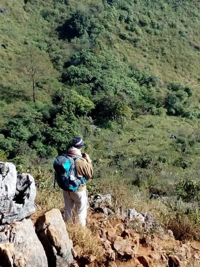 trekking doi luang trail