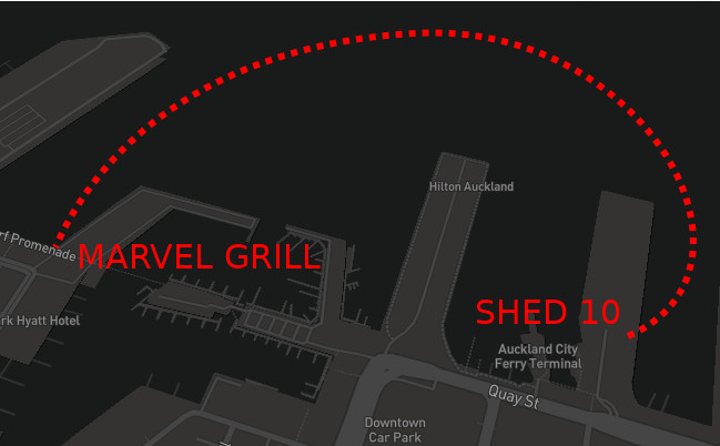 directions to Marvel Grill