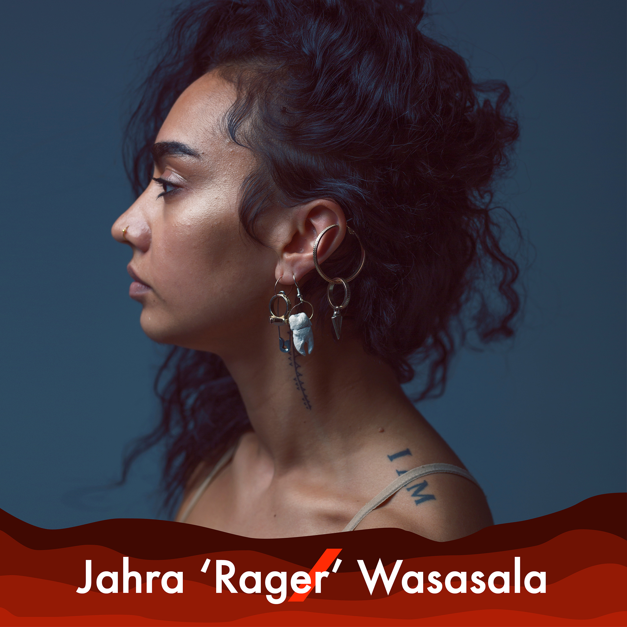 A picture of Jahra 'Rager' Wasasala