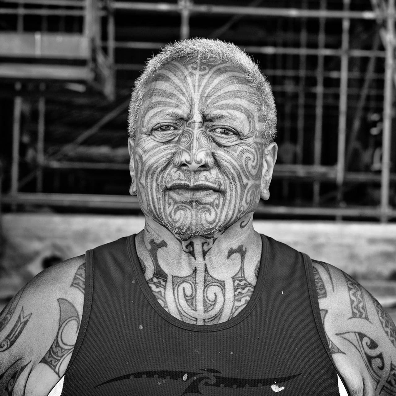 A picture of Tame Iti