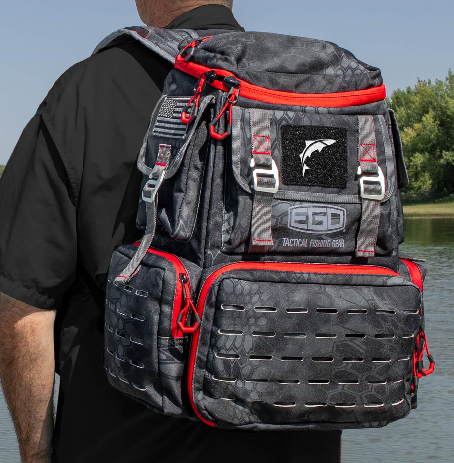 EGO Kryptek Tackle Box Backpack