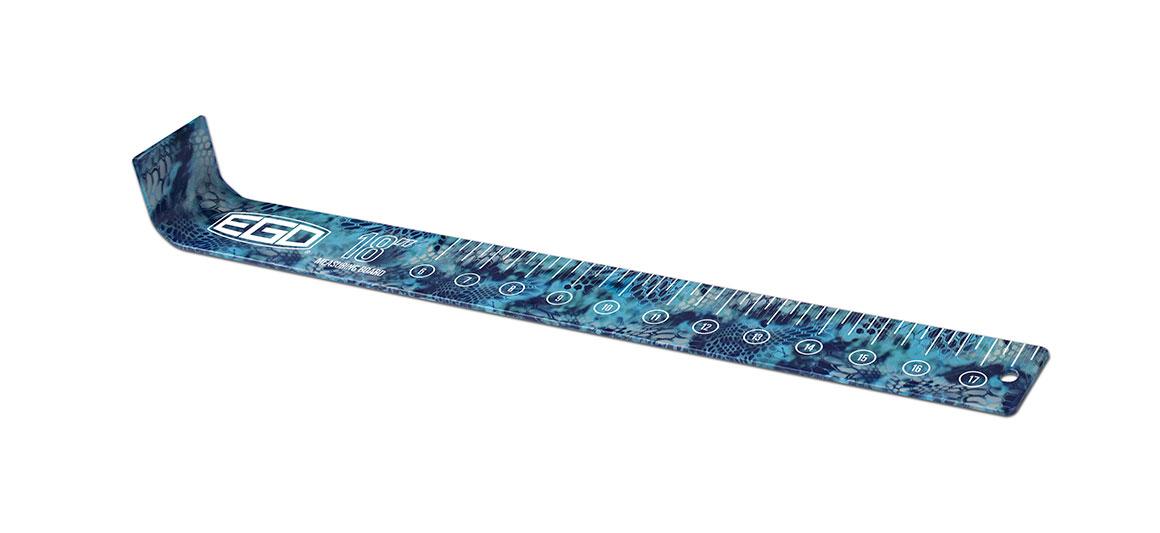 EGO Kryptek Camo 18in Aluminum Fishing Measuring Board