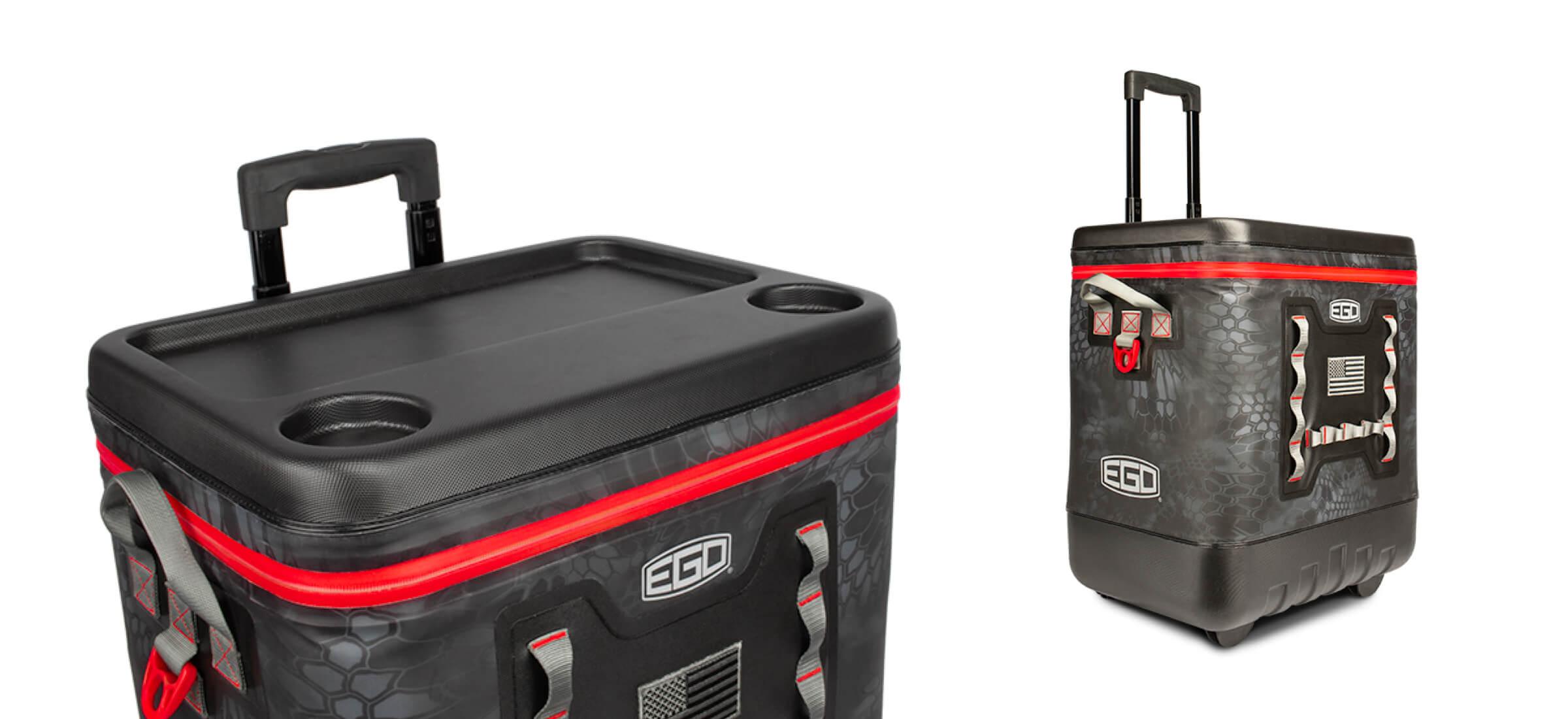 EGO Kryptek 40 Liter Roller Cooler