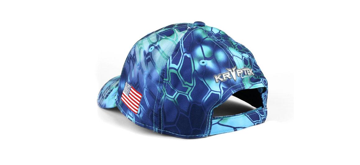 Back View EGO Kryptek Pontus Camo Ball Cap