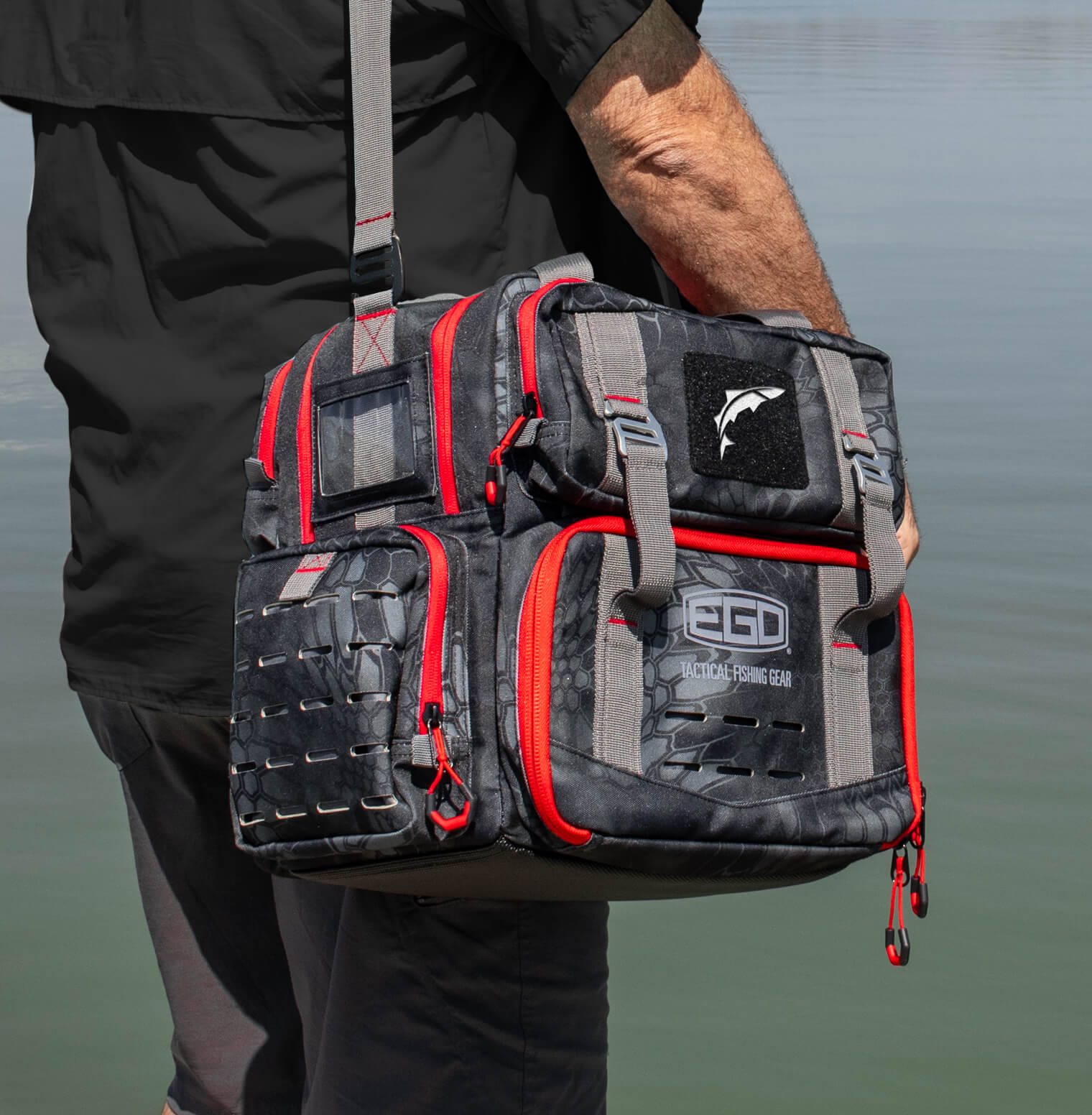 EGO Kryptek Tackle Box Bag