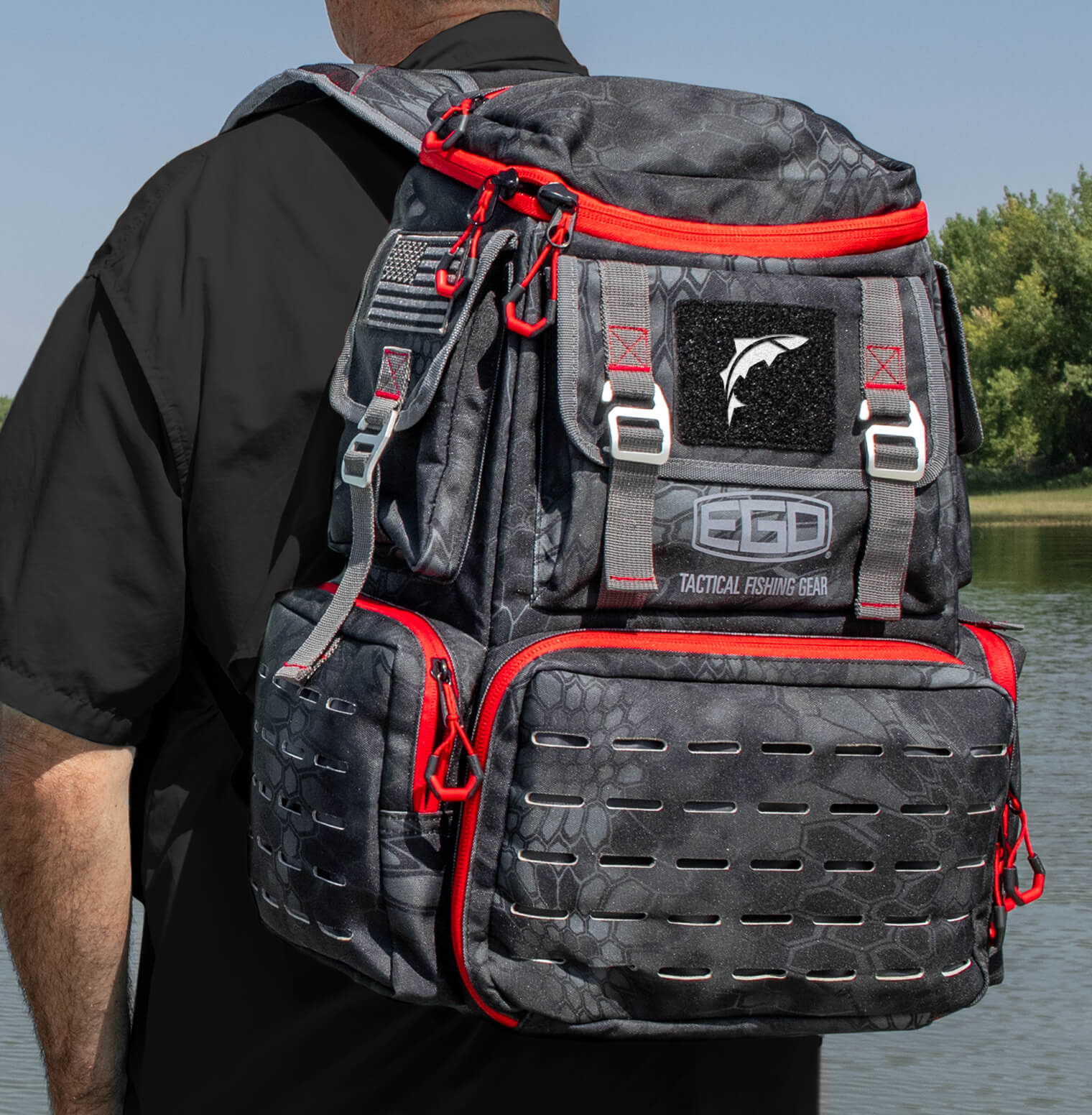 EGO Kryptek Tackle Box Backpack