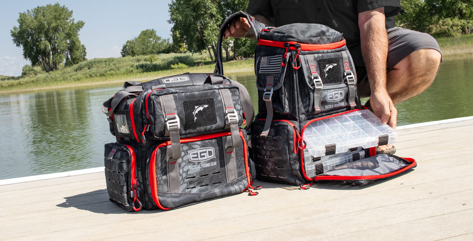 EGO Kryptek Tackle Box Bags
