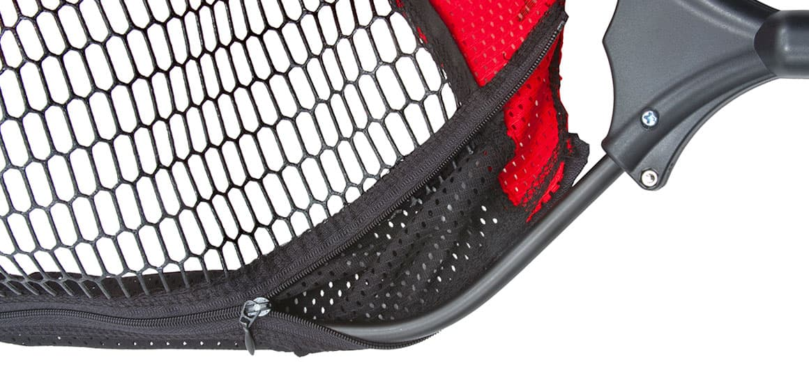EGO Blackwater Trout Net Zip on and off mesh bag