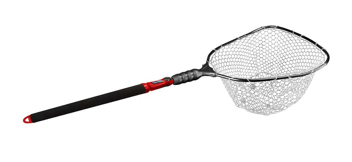 EGO S2 Slider Large Clear Lightweight Rubber Net