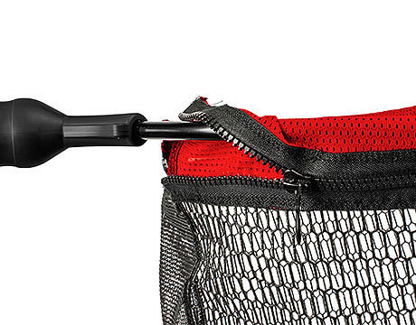EGO Large Guide Measure Net Mesh Bag Zipper