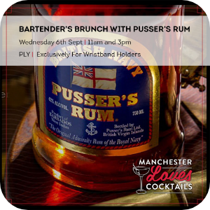Bartenders Brunch with Pusser's Rum