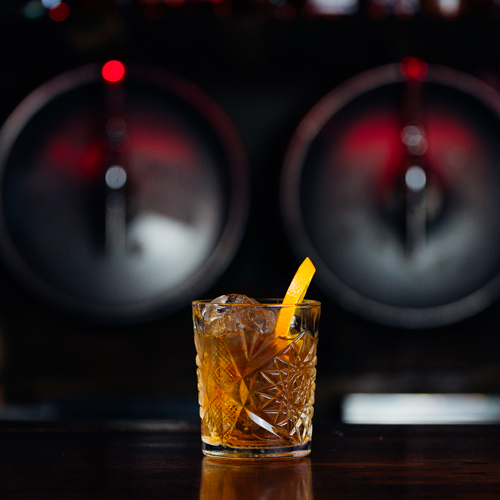 Burnt Orange & Chocolate Mezcal Old-Fashioned