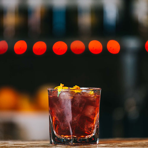Hibiscus Old Fashioned
