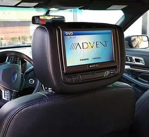 Headrest DVD Systems