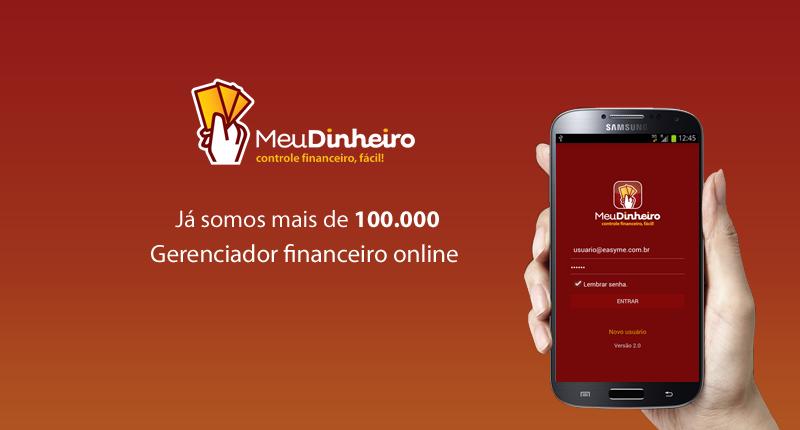 App Meu Dinheiro Android 2.0 - NOVO