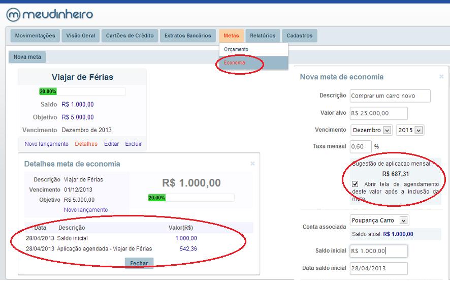 Novidades Meu Dinheiro - Abril/2013