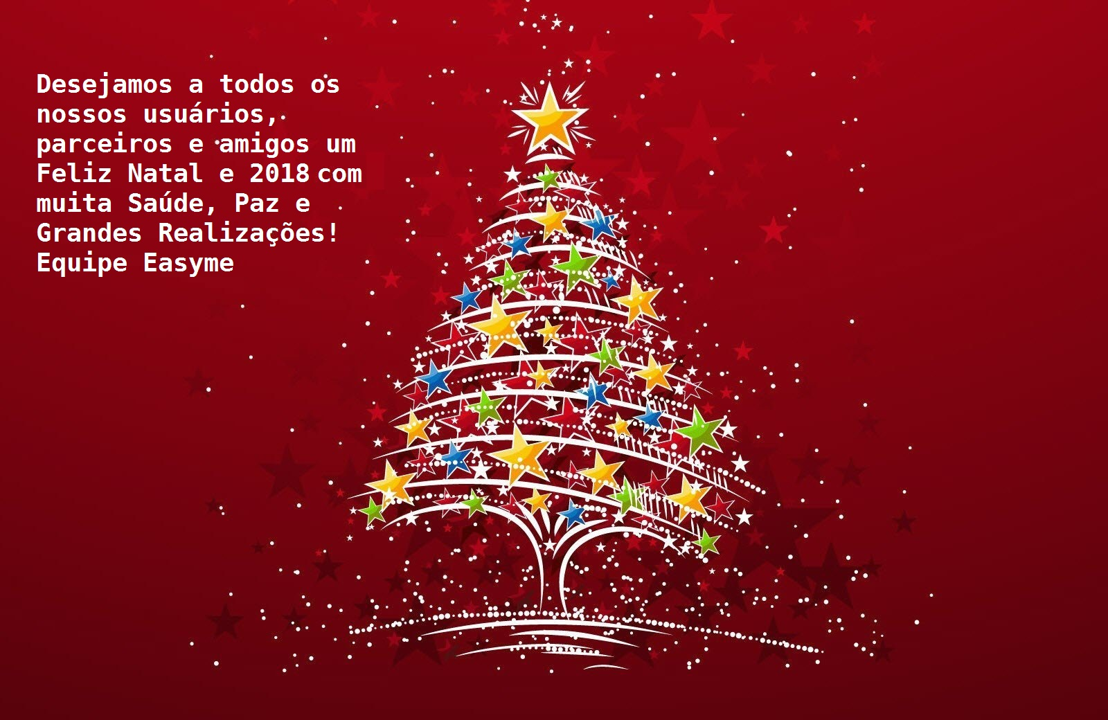 Feliz Natal e Ano Novo!