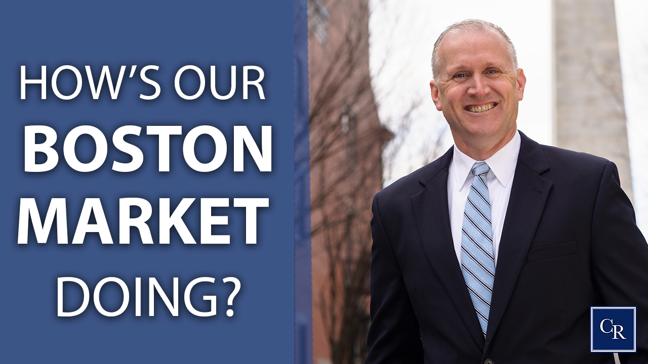 How's our Boston market doing?