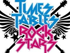 Times tables rock stars logo