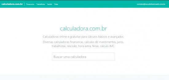 Calculadoras online grátis