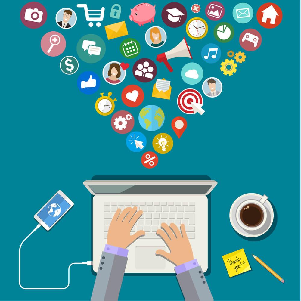 Como utilizar as redes sociais para aumentar minhas vendas online?