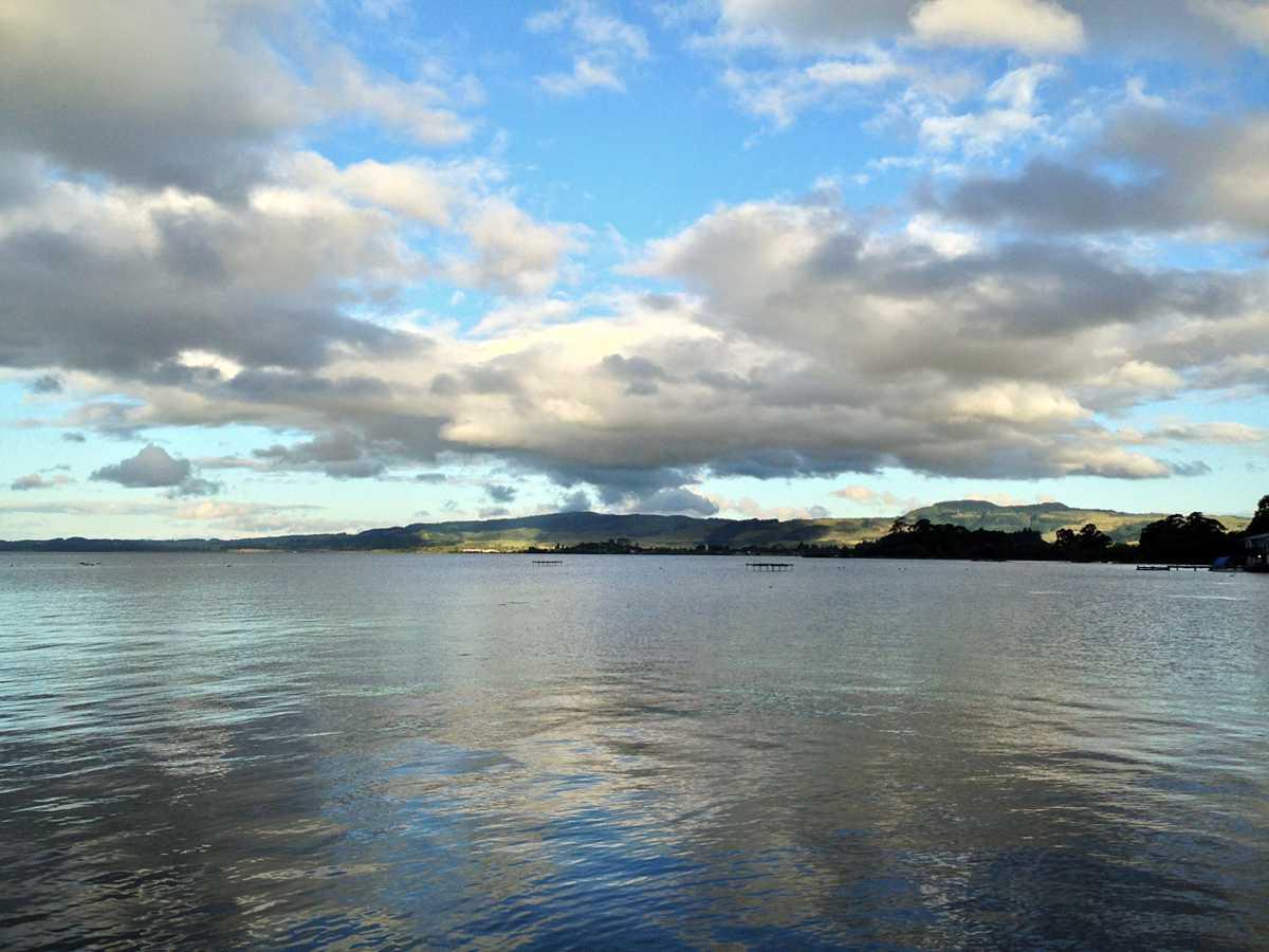 Lake in Rotorua