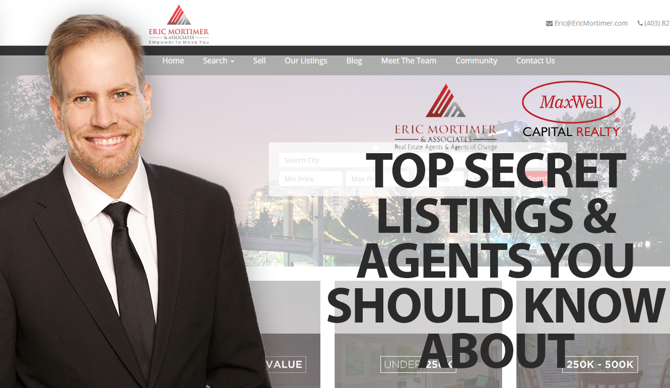 Top Secret Listings & Agents You Should Know About