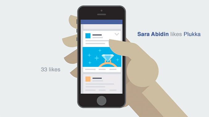 Example of social proof in a Facebook Ad