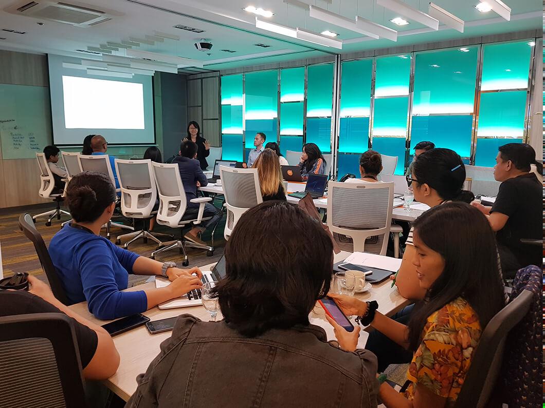 SEO workshop in progress