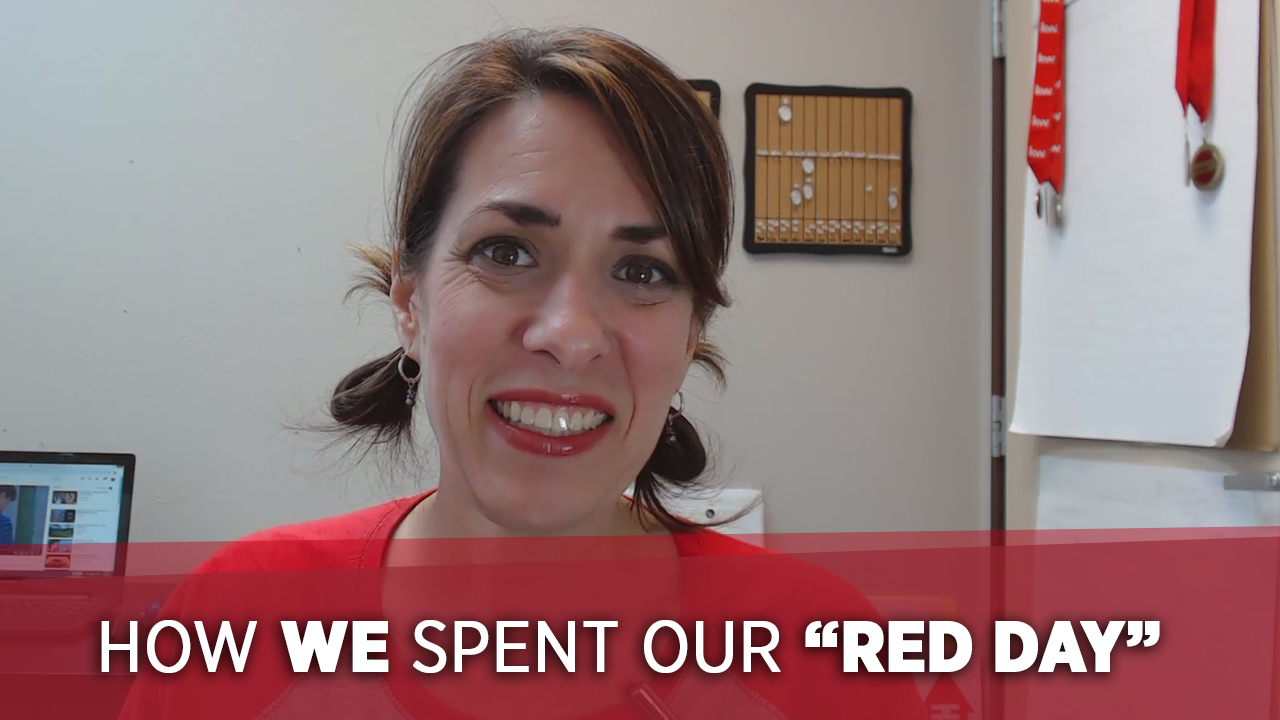 "How We Spent Our ""RED Day"""