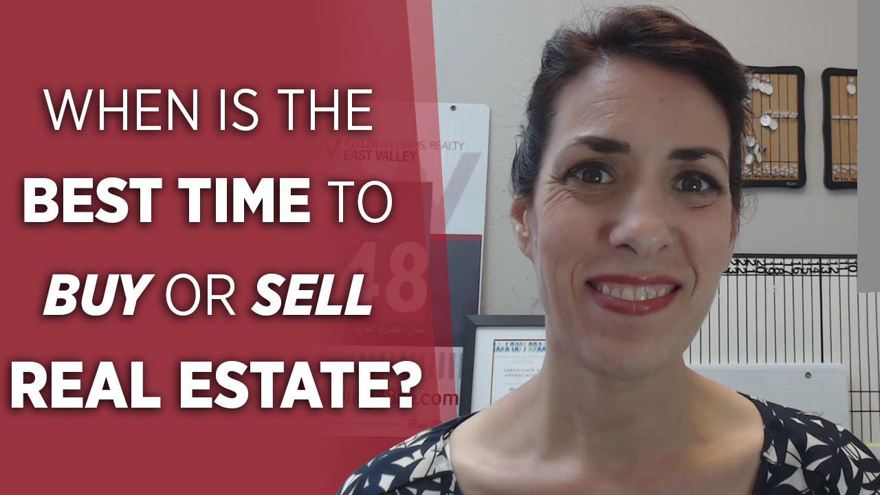 When Is the Best Time to Buy or Sell Real Estate?