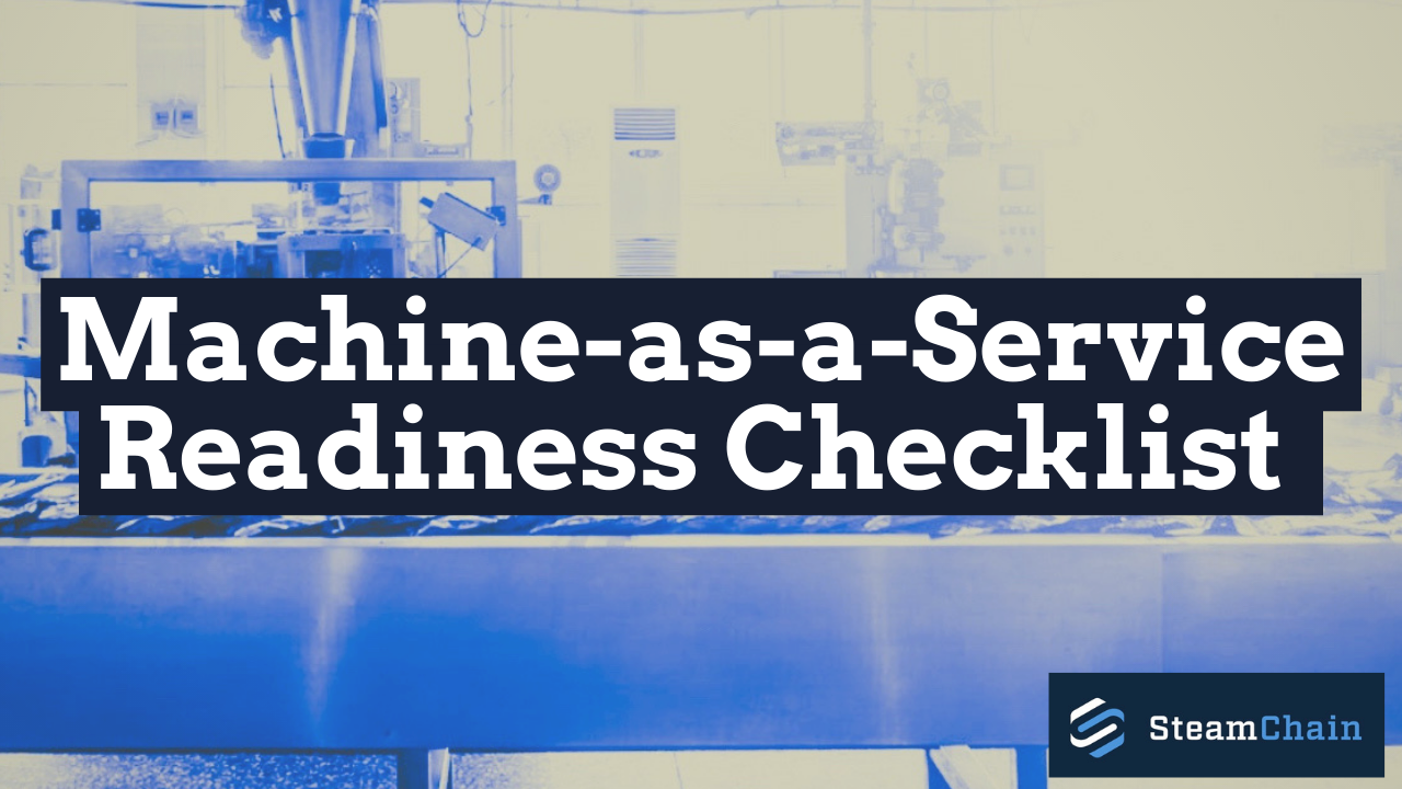 Machine-as-a-Service Readiness Checklist image