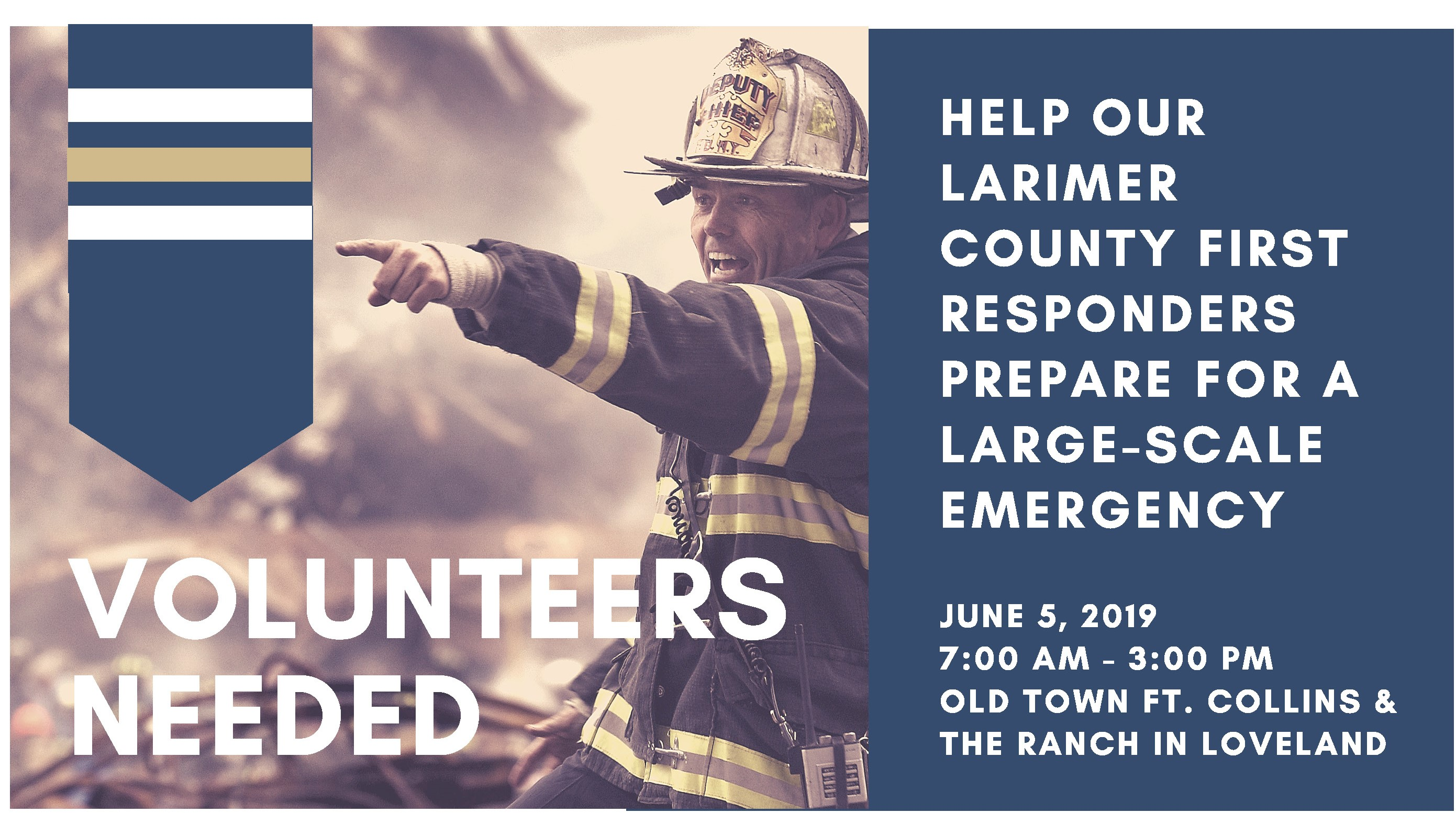 Volunteers Needed for Emergency Preparedness Exercise